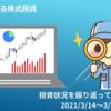 【投資】初心者による株式投資 投資状況 2021年3月20日