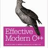 Effective Modern C++のドラフト版がリリースされた