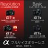 α7IIIとα7SIIとα7RIIIの4K動画スペックの違いは?