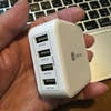 USBをコンピュータ接続用と充電用に分離