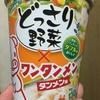 エースコック どっさり野菜×ワンタンメン タンメン味 食べてみました