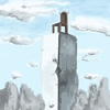 背景版深夜の真剣お絵描き60分一本勝負『椅子』 (デジタル1枚)
