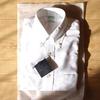ブルックス・ブラザーズのポロカラーシャツ白
