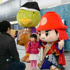 「官兵衛と村重のゆるキャラ 福岡空港で兵庫県をPR」 村重は無理があるんじゃ・・・