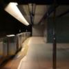 【1日1写真】レンズベビーSOL45 みなとみらい駅、コスモワールドの乗り物 なんとなくチルト写真