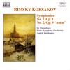 リムスキー=コルサコフ:Sym.1&2