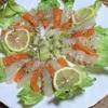 サーモンと鯛のキウイカルパッチョ
