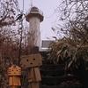 日高町 日高本線も見下ろしていた門別灯台にて
