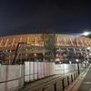 今年最後の新国立競技場:定点観測