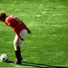 サッカーの写真