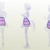 スカートの中は見せられない・・・というわけでも無い【ウマ娘】スペシャルウィーク ペーパーフィギュア