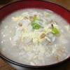 【1食35円】スーパー大麦もち麦ごはん大根雑炊の自炊レシピ