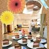 サークル活動第18回活動報告(*^▽^*)  フランボワーズムースとチョコレートムースケーキ♪♪