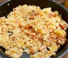 炒飯を山飯!メスティンで山ご飯簡単調理とテント泊の食料計画
