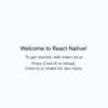 ReactNativeにReduxの環境構築をしてみる