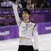 ★オリンピック:羽生が「金」、宇野が「銀」のワンツー!