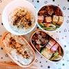 10月27日豚こま照り焼き弁当 28日焼肉弁当