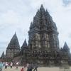 【インドネシアのジャワ島の世界遺産2】ヒンズー教の聖地プランバナン寺院群を観光!!