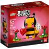 バレンタインデーはハチ!!  レゴ(LEGO) ブリックヘッズ シーゾナル の新製品画像が公開されています。