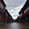 古都金沢の風情あるひがし茶屋街を散策。(Kanazawa, Higashichayagai)