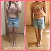 ダイエット始めてからの体型の変化