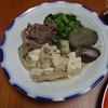 幸運な病のレシピ( 372 )夜:牛肉と豆腐のすき焼き風鍋、砂肝炒め