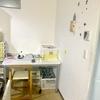 キッチンに仕事場を作りました