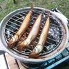 キャンプで燻製 100均の土鍋で燻製してきた。