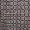 着物生地(120)斜め格子に幾何学模様織り出し泥大島紬