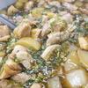 鶏肉と大根のにんにく煮
