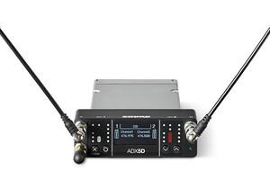 SHURE、AXT Digitalのデュアル・チャンネル・ポータブル受信機ADX5Dを発表