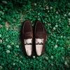 【優美な中庸靴】ジョンロブのローファー「ロペス」のサイズ感やコーデについて(スエード)