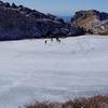大分県 くじゅうの「御池」凍結しましたよ!