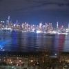 Gopro8の夜間モードでハミルトンパークからマンハッタンのskylineを撮影