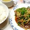 青椒肉絲のごはんセット(外食)