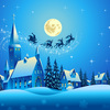 【無料/フリーBGM素材】雪の街、夜の街、木琴『Cool Down』クリスマス音楽