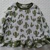 お揃い服第1弾♪サボテンdeフレアTシャツ。