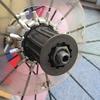 自転車 カセットスプロケット ロックリングとセンターロック のねじは同じだった