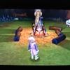 【3DSドラクエ11感想】ドラクエ11のフィールドでキャンプをしよう!女神像に焚火の跡!