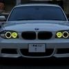 黄色いイカリング(BMW E82)