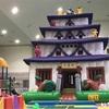 子どもが喜ぶ温泉施設【大江戸温泉物語あいづ】ふわふわ遊具もあるよ!