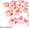 桜のヘアピン風! 花丸クッキー
