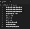 Visual Studio Code で文字化けせずにSJISファイルを開く
