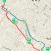 ③二子玉から川崎まで(50~65km)
