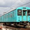 大和川で地下鉄顔の105系を狙うが・・・ 関西国鉄型 撮り鉄遠征⑨