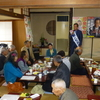 22日、村山市議の担当地域の後援会新年会に参加。