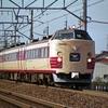 1993年11~12月の鉄道汚写真 しらさぎ・白樺・リゾート・国鉄色・・・