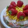 【こどもの日】ちらし寿司とケーキのコラボ
