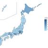 [Rpubs] ggplot2 で沖縄をずらして日本地図を描きたい