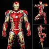 【アベンジャーズ】インフィニティ・サーガ DLX『アイアンマン・マーク43(Iron Man Mark 43)』1/12 可動フィギュア【スリー・ゼロ】より2022年3月再販予定♪